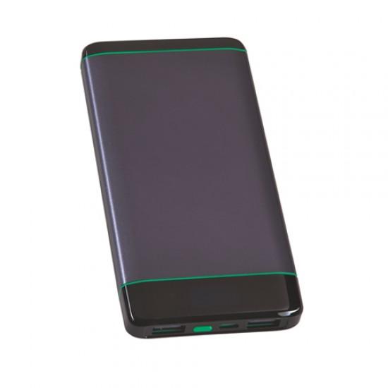 10000 mAh Çift USB Fenerli Powerbank TOPTAN