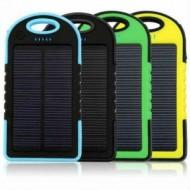 Güneş Enerjili 12000 mAh Solar Powerbank  TOPTAN