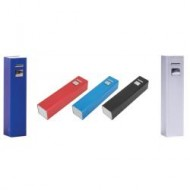 Power Bank 2600 mAh Metal Kasa PERAKENDE
