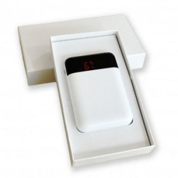 6000 mAh LCD Ekran Promosyon Powerbank TOPTAN
