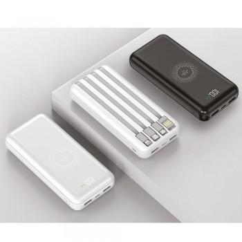 10000 mAh Wireless Powerbank (2 RENK)