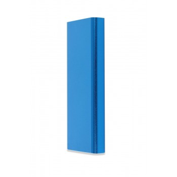 3000 mAh Promosyon Powerbank 16GB USB Kalem Mavi SET TOPTAN