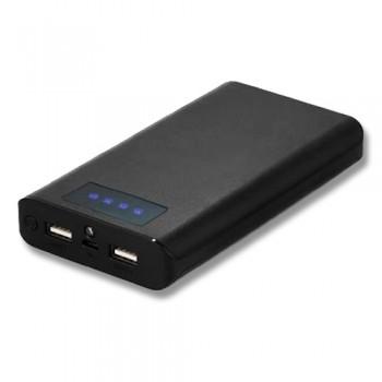 15600 mAh 2 USB, Fenerli, Dijital Ekranlı Powerbank TOPTAN
