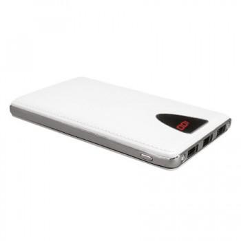 10000 mAh Ekranlı 3 USB Çıkışlı Work Powerbank TOPTAN