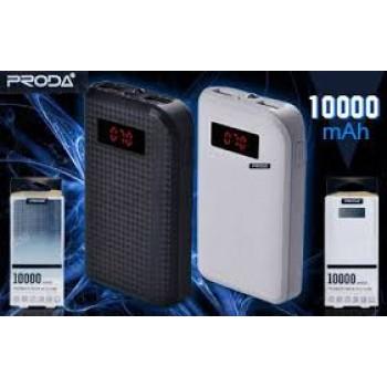 Proda 10000 mAh Powerbank  PERAKENDE