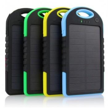 Güneş Enerjili Solar Power Bank 12000 mAh etiketli-TOPTAN