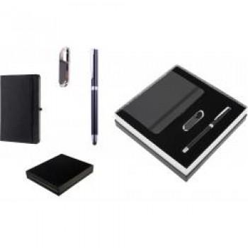 Promosyon 8 GB USB Bellek- Roller Kalem ve Defter Seti TOPTAN
