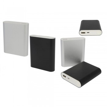 6000 mAh Metal kasa Powerbank-TOPTAN