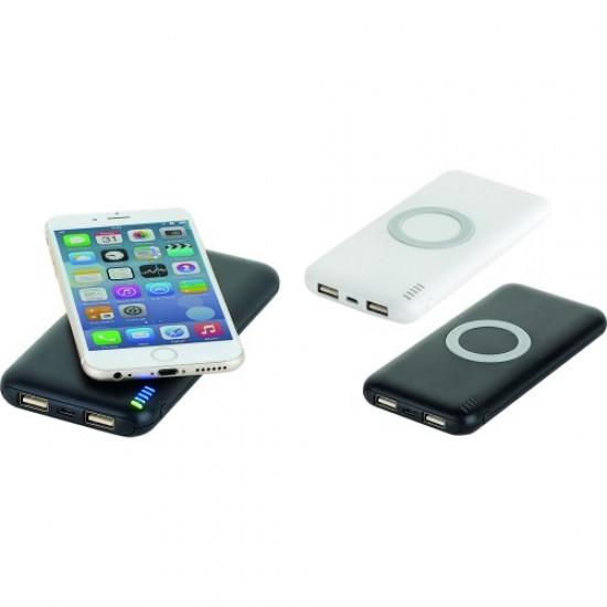 8000 mAh Promosyona Uygun Wireless Powerbank TOPTAN