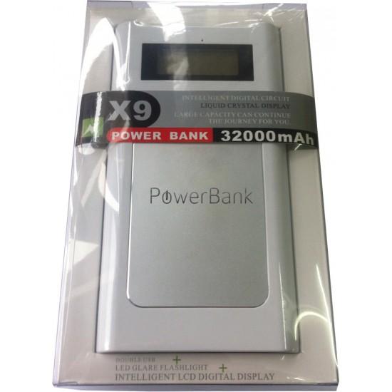 32000 mAh Powerbank LCD Ekranlı Lüks Ürün