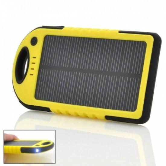 8000 mAh  Güneş Enerjili Solar Powerbank PERAKENDE