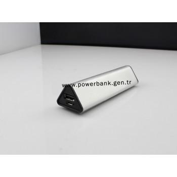 2600 mAh Metal Üçgen Power Bank - TOPTAN