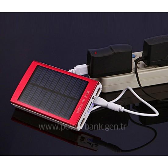 18000 mAh Güneş Enerjili etiketli Powerbank PERAKENDE